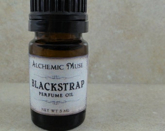 Blackstrap - Perfume Oil - Brown Sugar, Coconut, Vanilla, Fig