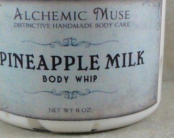 Pineapple Milk - Body Whip - Tangy Pineapple, Sweet Cream, Sugarcane - Limited Edition