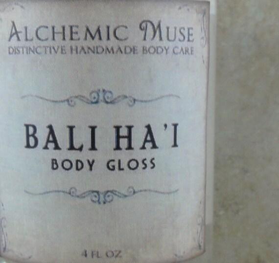Bali Ha'i - Body Gloss - Tropical Fruit, Island Flowers, Coconut Milk