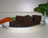 Yummy Spinach Carrot Brownies