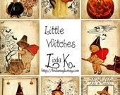 Collage Sheet---Little Witches
