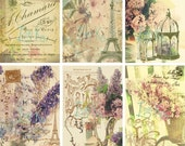 Bella-Digital Scrapbooking-Collage Sheet-Digital Image-Digital Card...
