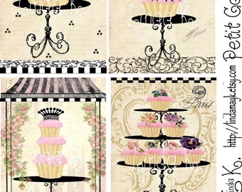 Collage Sheet---Petit Gateau