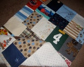 Custom Baby Memory Quilt made from your Little Love's baby clothing - baby size
