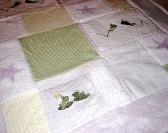 Custom Baby Memory Quilt made from your Little Love's clothing - crib size