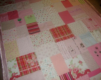 Custom Memory Quilt made from your Little Love's clothing- Queen Size