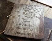 Custom Wedding Guest Book - Maple Tree
