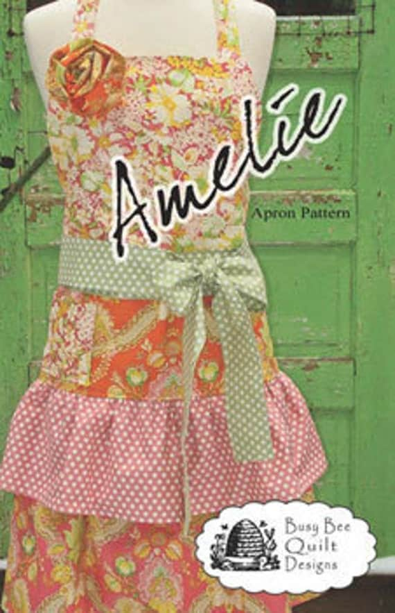 Vintage Style Amelie Apron by Busy Bee Quilt Designs PATTERN