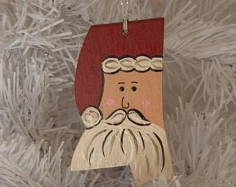 Mississippi Santa Ornament