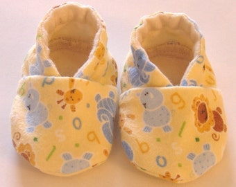 Baby Shoes, ORGANIC Flannel Lining