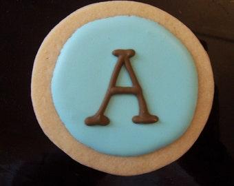 Personalized Monogram Cookies 1 Dz