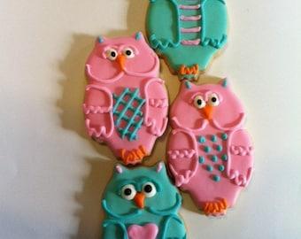 Owl Cookies 1 doz