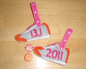 13.1 Half Marathon Running Shoe Ornament