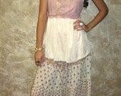 LOVE Hippie Patchwork Tiered Skirt PRICE REDUCTION
