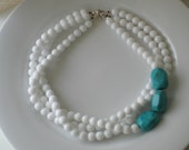 A Little Bit of Turquoise Necklace
