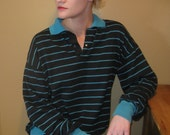 Cecily Striped Vintage Pullover