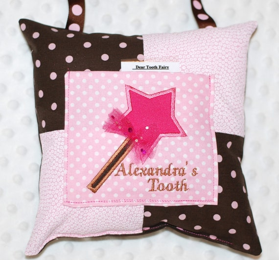 New Item Girls fairy fairies tooth fairy pillow