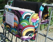 Coupon Organizer Holder Purse Psychedelic Bubble