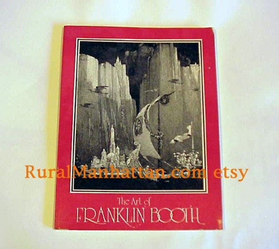 Art of Franklin Booth Book