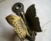 Vintage Butterfly Wall Clip by Allied Brass