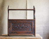 Antique Wall Cabinet with Shelf