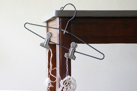 Reserved...  Wire Clip Hanger No. 2, Made in NYC by Henry Hanger Co.
