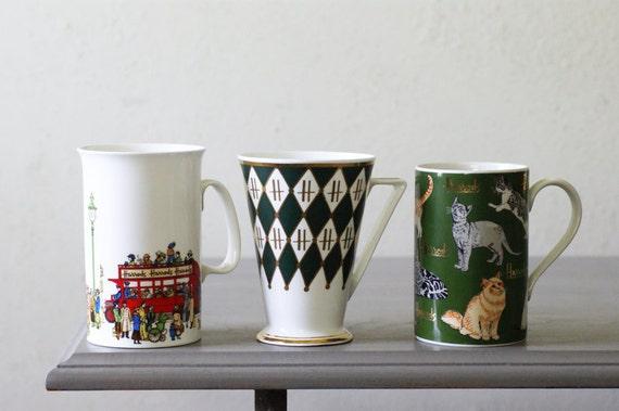 Vintage Harrods Mugs