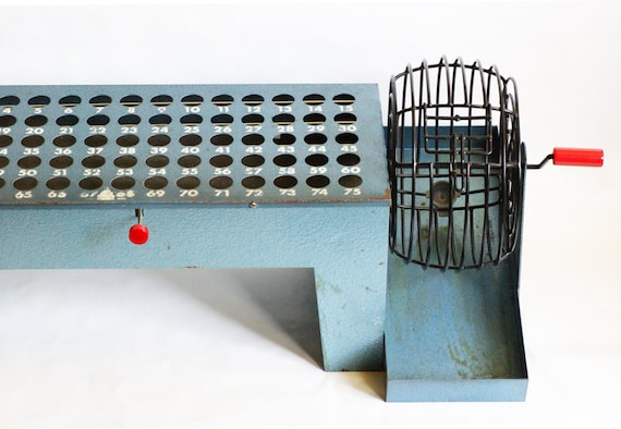 Commercial Bingo Cage and Board by Capitol