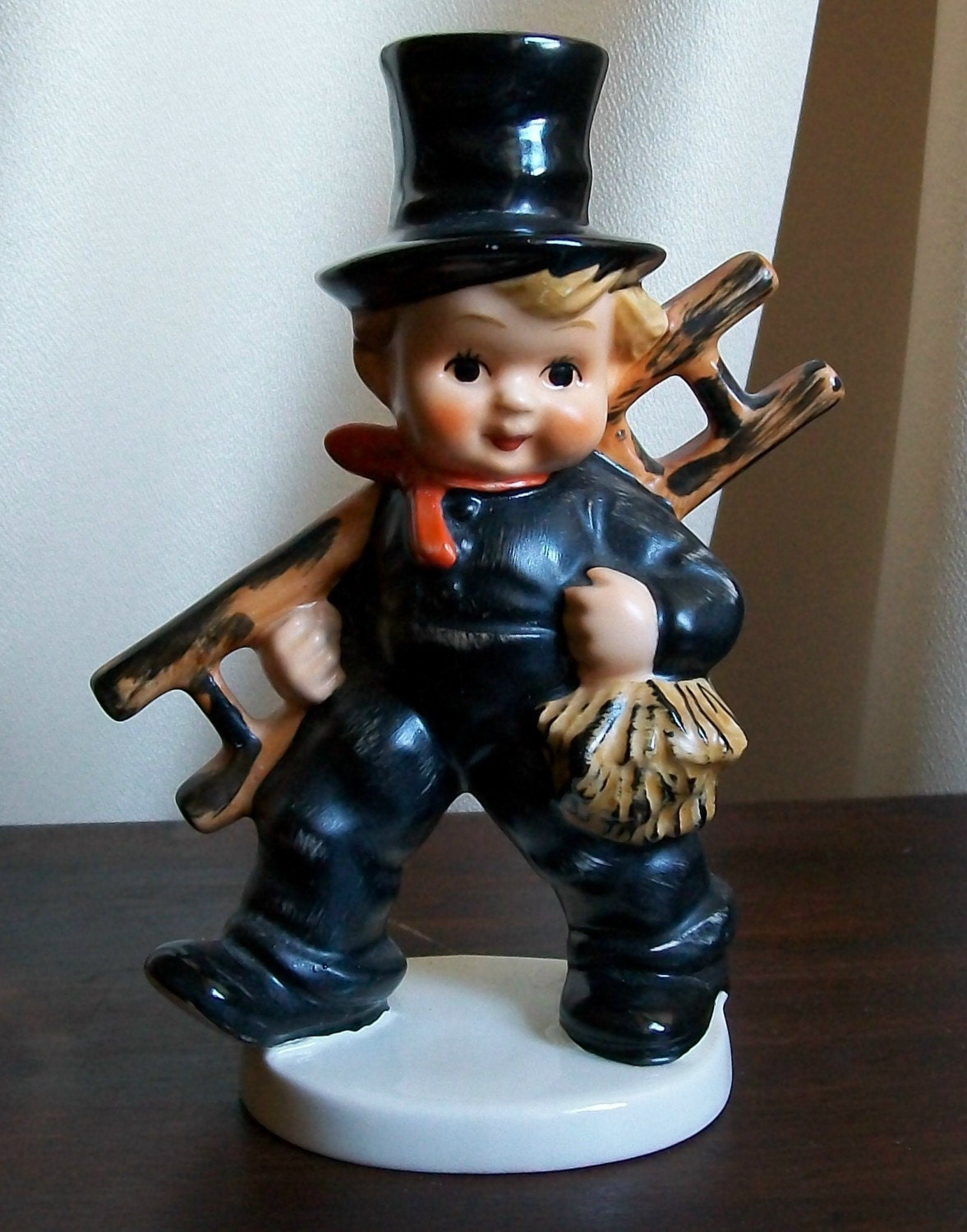 Vintage Hummel Chimney Sweep Figurine By Goebel By Susantique