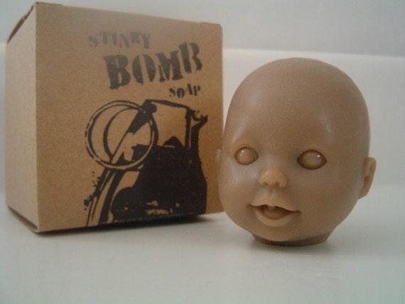 Baby Doll Head Soap