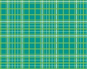LAST YARD - Wheels, Riley Blake Designs, Plaid, Blue
