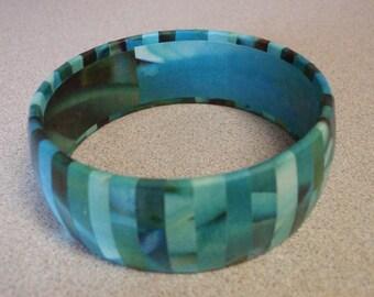 Hand Made Decoupage Bracelet - Free Shipping