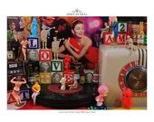 11x11 Photograph Last Call at the Vinyl Alibi Jazz Club Album Edition Windup Dreams and Vinyl Nightmares Photography