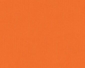 SALE - Organic Orange Pure Organics Cotton from Robert Kaufman- 1 Yard