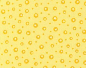 SALE - Organic Cotton Little One  Line in Sunshine by Katie Hennagir for Robert Kaufman- 1 Yard