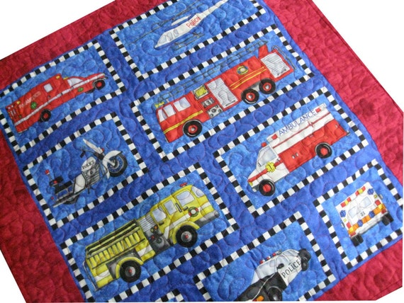 Quilted Rescue Vehicle Blanket