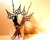 Gothic Victorian Styled Hair Sticks- 2 - Braving the Elements