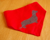 Dachshund Love Dog Bandana