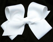 Solid Large Belle Bow- FREE SHIPPING see shop for details