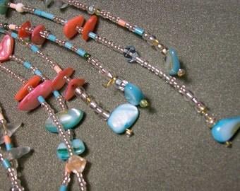 South Seas lariat necklace