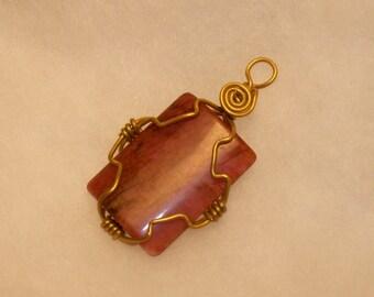 Chinese Soocho Jade pendant (A86)