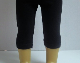 American Girl 18inch Doll Crop Leggings in Black by Crazy For Hue