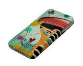 iPhone 4S & 4 Case - Set of Two cases  - Whimsical Rupydetequila Art