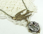SALE Steampunk Necklace - Flight STORE CLOSING