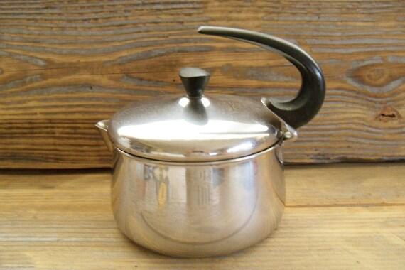 Farberware Tea Pot Kettle Bronx Stainless 1970s