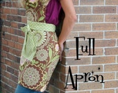 Women's Full Apron by Everyday Chic PDF Pattern Tutorial