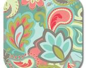 Riley Blake, Emily Taylor Designs, Main in Gray fabric, Verona Collection,1 yard C2800