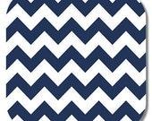 Riley Blake, Navy Medium Chevron fabric,1 yard C320-21