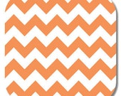 Riley Blake, Orange Medium Chevron fabric,1 yard C320-60