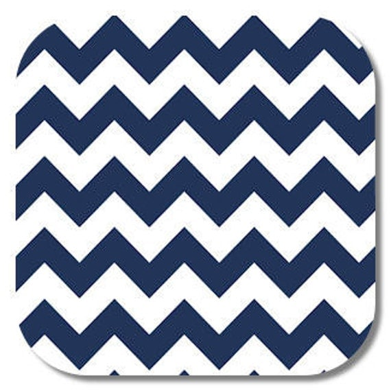 Riley Blake, Navy Medium Chevron fabric,1 yard C320-21